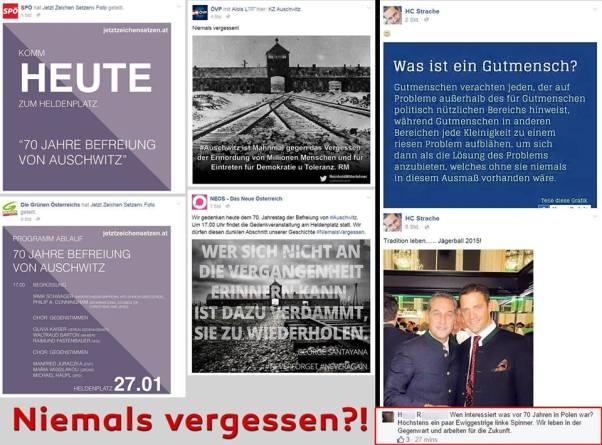 Strache Auschwitz